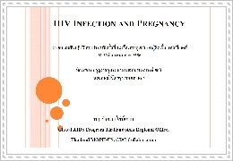 HIV infection in pregnant woman