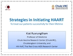 Strategies in Initiating HAART