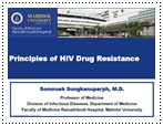 principles of hiv drug resisance