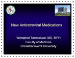 new antiretroviral medications