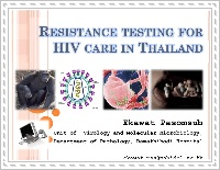 Resistance Testing for HIV Care in Thailand