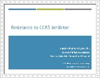 Resistance to CCR5 Inhibitor