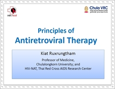 Principles of antiretroviral therapy