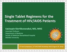 Single Tablet Regimens for the Treatment of HIV/AIDS Patients