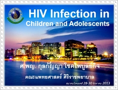HIV infection in children and adolescents