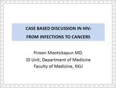 Case-based panel discussion 4: Dealing with opportunistic infections and cancers