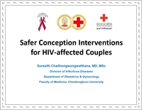 Safer conception interventions for HIV-affected couples