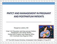 PMTCT and management in pregnant and postpartum patients