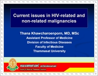 Current issues in HIV-related and non-related malignancies