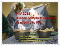 Kidney complications and feasibility of kidney transplantation